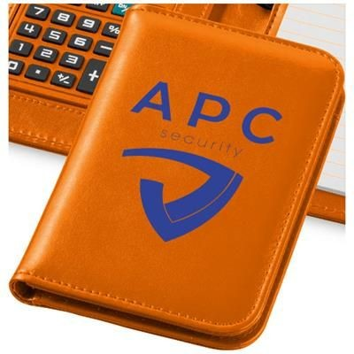 Picture of SMARTI A6 NOTE BOOK with Calculator in Orange