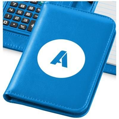 Picture of SMARTI A6 NOTE BOOK with Calculator in Light Blue