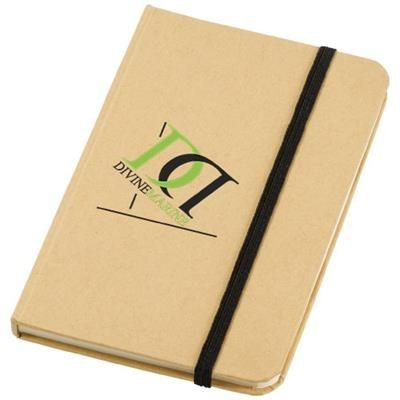 Picture of DICTUM NOTE BOOK in Natural-black Solid
