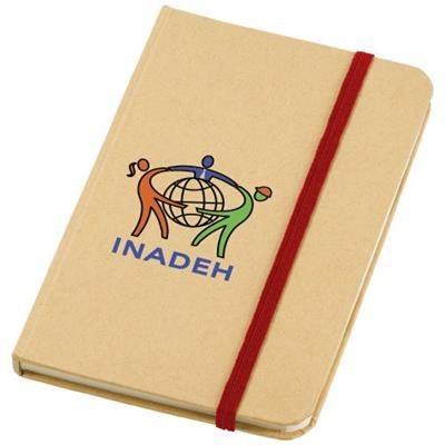 Picture of DICTUM NOTE BOOK in Natural-red