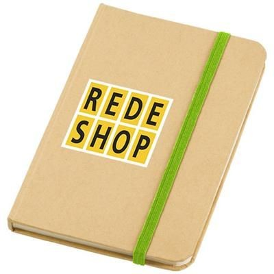 Picture of DICTUM NOTE BOOK in Natural-apple Green