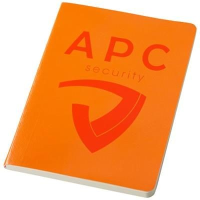 Picture of GALLERY A5 SOFT COVER NOTE BOOK in Orange