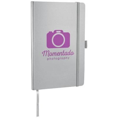 Picture of FLEX A5 NOTE BOOK with Flexible Back Cover in Silver
