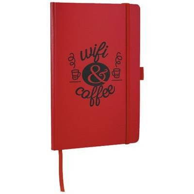 Picture of FLEX A5 NOTE BOOK with Flexible Back Cover in Red