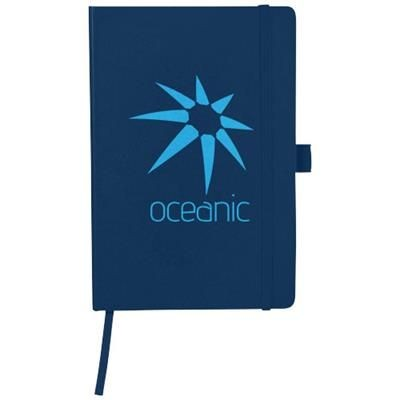 Picture of FLEX A5 NOTE BOOK with Flexible Back Cover in Navy