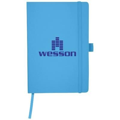 Picture of FLEX A5 NOTE BOOK with Flexible Back Cover in Light Blue