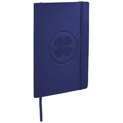 Picture of CLASSIC A5 SOFT COVER NOTE BOOK in Royal Blue