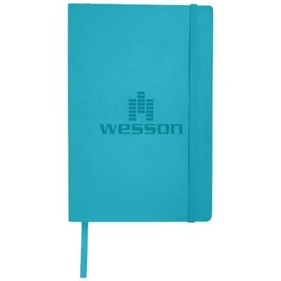 Picture of CLASSIC A5 SOFT COVER NOTE BOOK in Light Blue