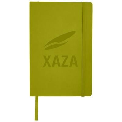 Picture of CLASSIC A5 SOFT COVER NOTE BOOK in Lime