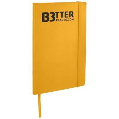 Picture of CLASSIC A5 SOFT COVER NOTE BOOK in Yellow