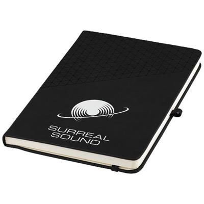 Picture of THETA A5 HARD COVER NOTE BOOK in Black Solid