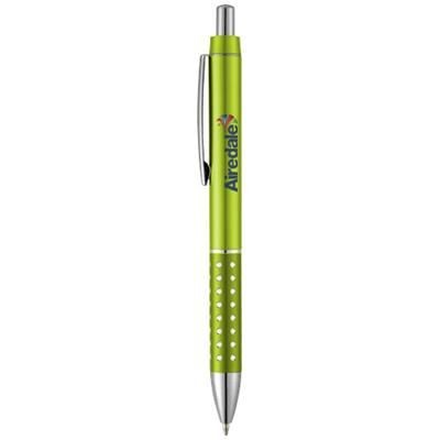 Picture of BLING BALL PEN with Aluminium Metal Grip in Lime