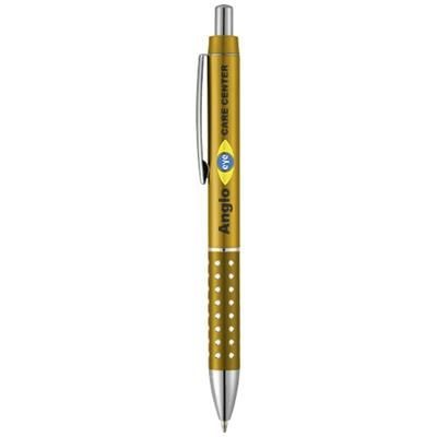 Picture of BLING BALL PEN with Aluminium Metal Grip in Yellow