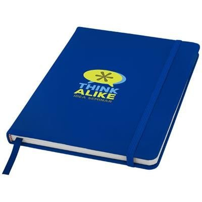 Picture of SPECTRUM A5 HARD COVER NOTE BOOK in Royal Blue