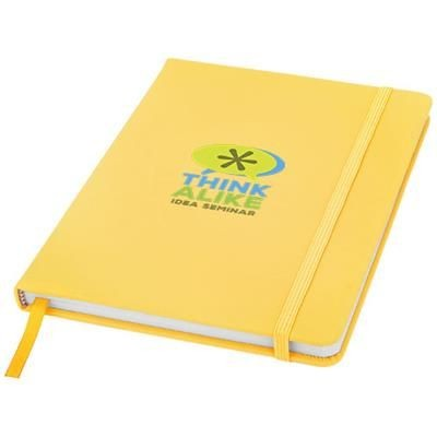 Picture of SPECTRUM A5 HARD COVER NOTE BOOK in Yellow