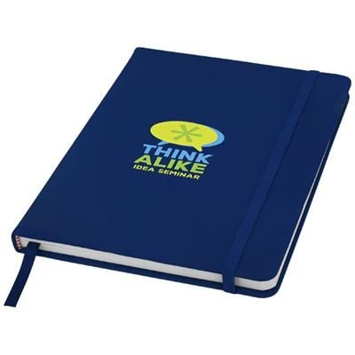Picture of SPECTRUM A5 HARD COVER NOTE BOOK in Navy