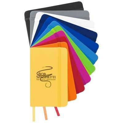 Picture of SPECTRUM A6 HARD COVER NOTE BOOK in Orange