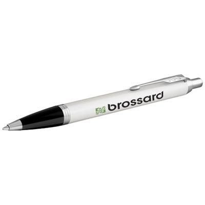 Picture of IM BALL PEN in White Solid-silver
