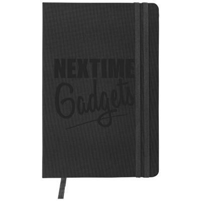 Picture of DENIM A5 HARD COVER NOTE BOOK in Black Solid