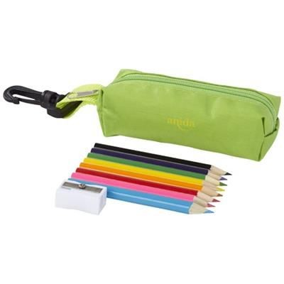 Picture of JIMBO 8-PIECE COLOUR PENCIL SET in Green