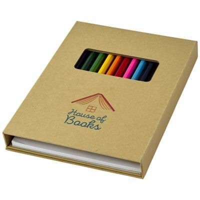 Picture of PABLO COLOURING SET with Drawing Paper in Natural