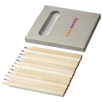 Picture of TALLIN 12-PIECE COLOUR PENCIL SET in Natural