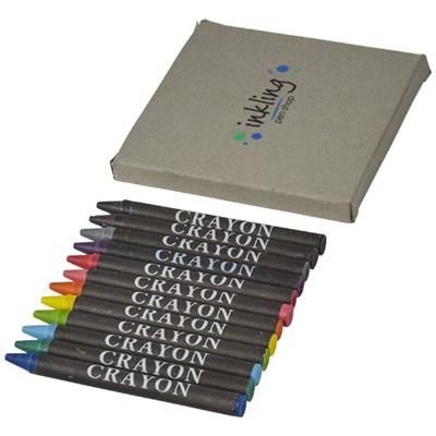 Picture of 12-PIECE CRAYON SET in Natural