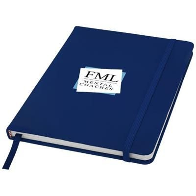 Picture of SPECTRUM A5 NOTE BOOK with Blank Pages in Navy