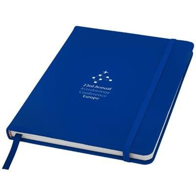 Picture of SPECTRUM A5 NOTE BOOK with Blank Pages in Royal Blue