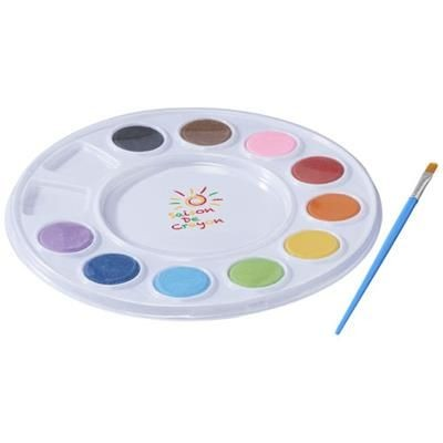 Picture of SPLASH WATER COLOUR SET in White Solid