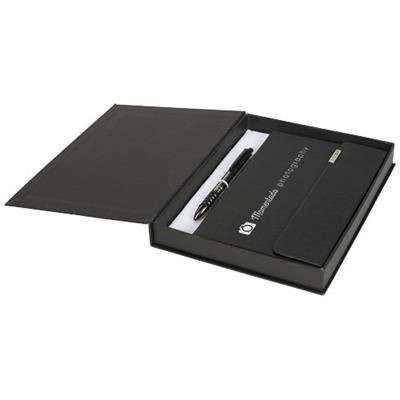 Picture of TACTICAL NOTE BOOK GIFT SET in Black Solid