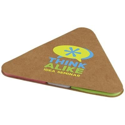 Picture of TRIANGULAR STICKY PAD in Brown