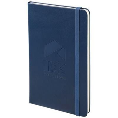 Picture of CLASSIC L HARD COVER NOTE BOOK - RULED in Sapphire