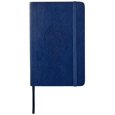 Picture of CLASSIC PK SOFT COVER NOTE BOOK - RULED in Sapphire