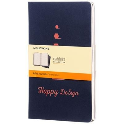 Picture of CAHIER JOURNAL L - RULED in Indigo