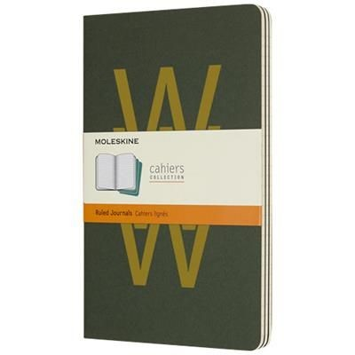 Picture of CAHIER JOURNAL L - RULED in Myrtle Green