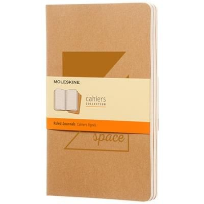 Picture of CAHIER JOURNAL L - RULED in Kraft Brown