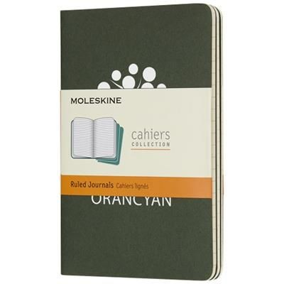 Picture of CAHIER JOURNAL PK - RULED in Myrtle Green