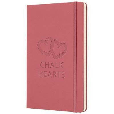 Picture of CLASSIC L HARD COVER NOTE BOOK - PLAIN in Pink