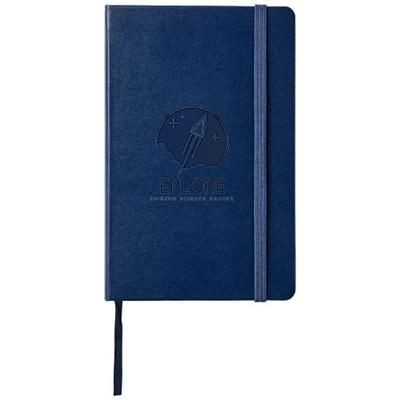 Picture of CLASSIC PK HARD COVER NOTE BOOK - DOTTED in Sapphire