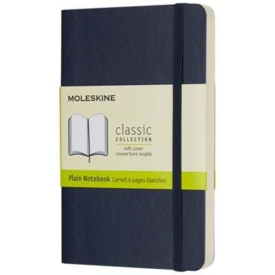 Picture of CLASSIC PK SOFT COVER NOTE BOOK - PLAIN in Sapphire