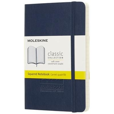 Picture of CLASSIC PK SOFT COVER NOTE BOOK - SQUARED in Sapphire