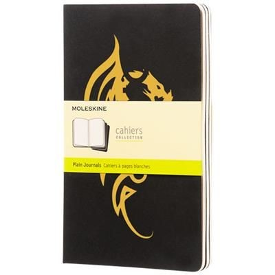Picture of CAHIER JOURNAL L - PLAIN in Black Solid
