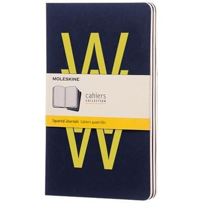 Picture of CAHIER JOURNAL L - SQUARED in Indigo