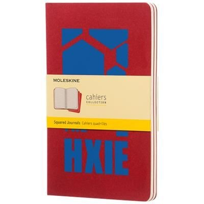 Picture of CAHIER JOURNAL L - SQUARED in Cranberry Red
