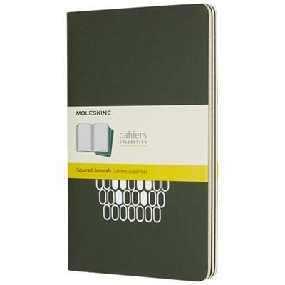 Picture of CAHIER JOURNAL L - SQUARED in Myrtle Green