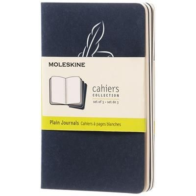Picture of CAHIER JOURNAL PK - PLAIN in Indigo