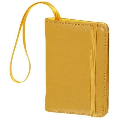 Picture of CLASSIC LUGGAGE TAG in Yellow