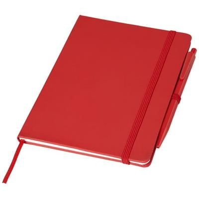 Picture of PRIME MEDIUM SIZE NOTE BOOK with Pen in Red