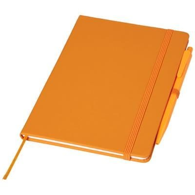 Picture of PRIME MEDIUM SIZE NOTE BOOK with Pen in Orange